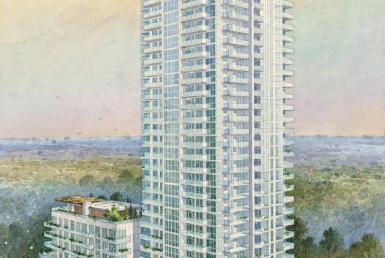 Ravine Condos Building View Toronto, Canada