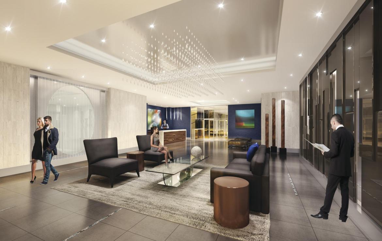 Senses Condominiums Lobby Toronto, Canada