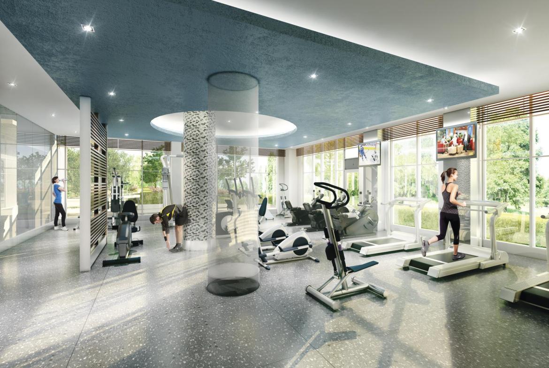 Senses Condominiums Gym Toronto, Canada