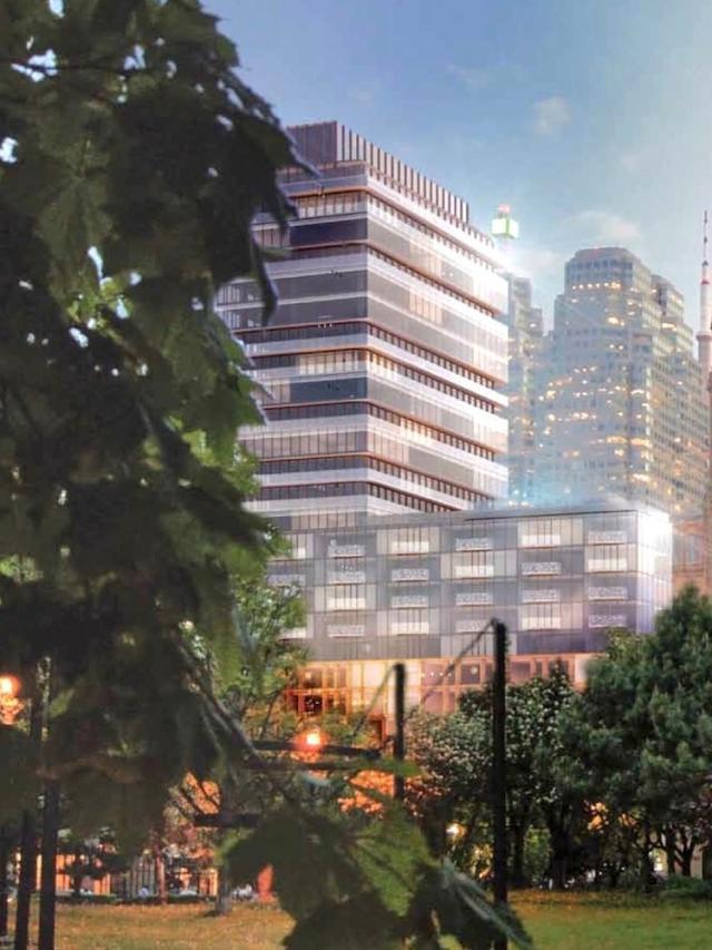 Sixty Colborne Condos Building View Toronto, Canada