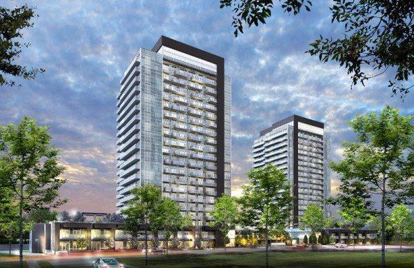 SkyCity Condominiums Front View Toronto, Canada