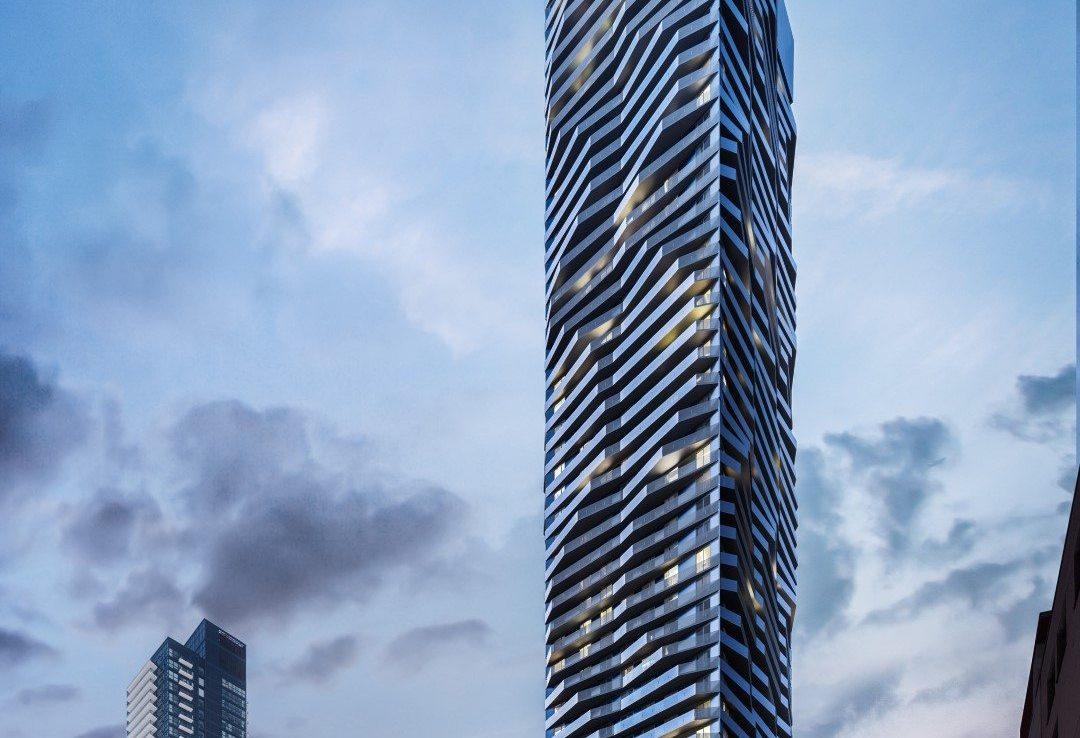 Social Condos Building View Toronto, Canada