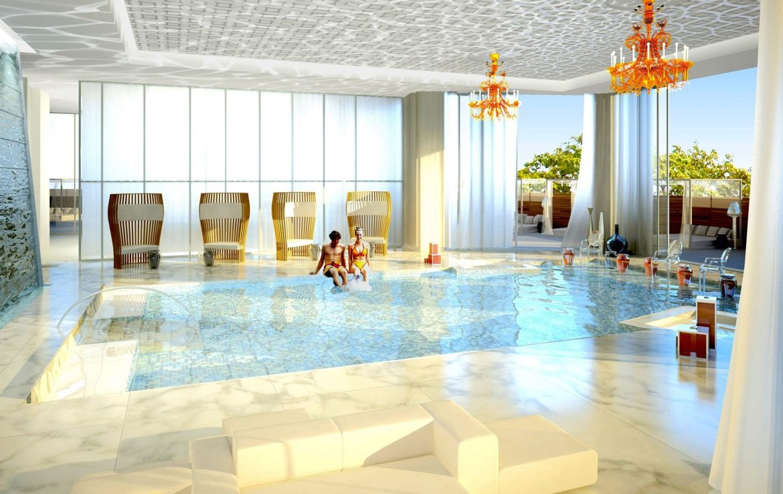 South Beach Condos & Lofts Indoor Pool Toronto, Canada