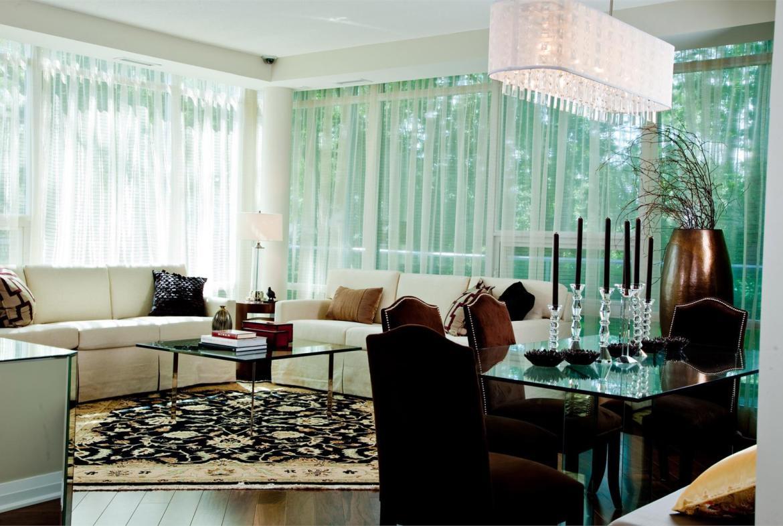 Stonebrook Condominiums Living Area Toronto, Canada