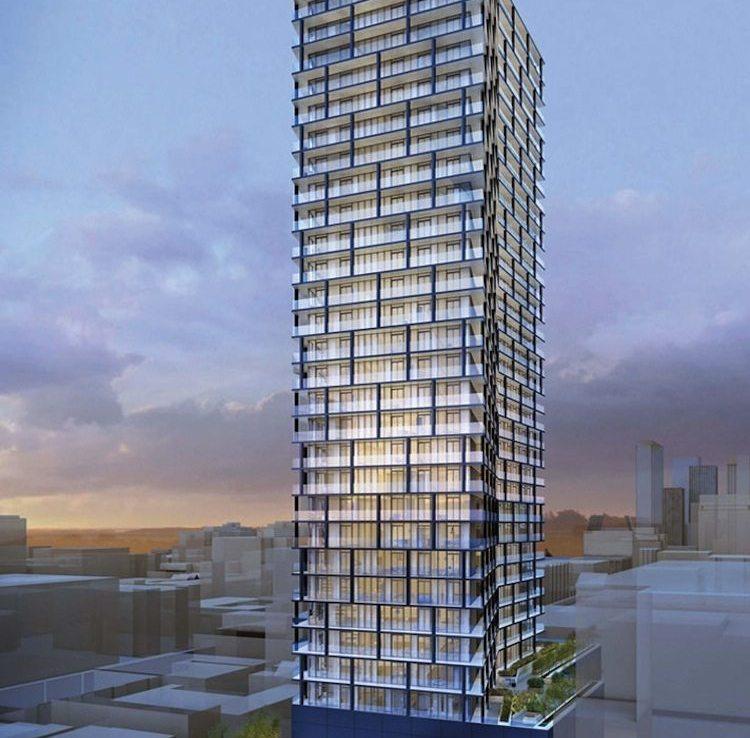 Tableau Condominiums Building View Toronto, Canada