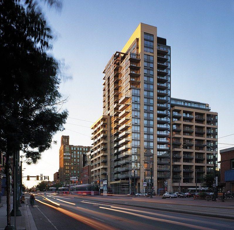 The Hudson Condos Building View Toronto, Canada