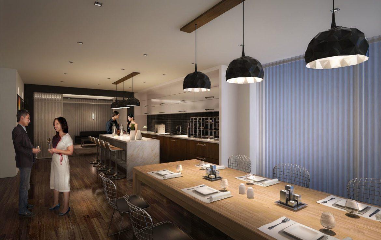 The Mercer Condos Wine Lounge Toronto, Canada
