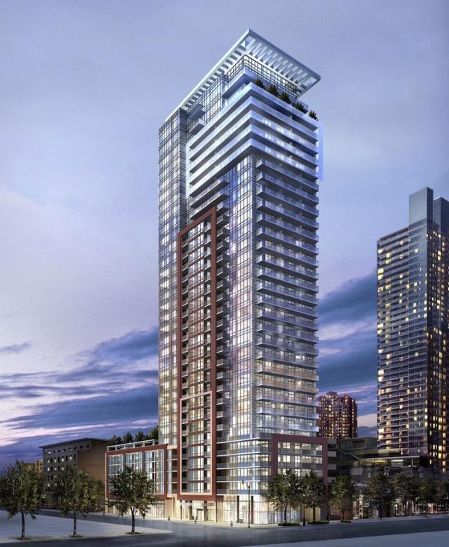 The Mercer Condos Building View Toronto, Canada