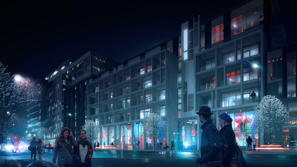 The Taylor Condos Street View Toronto, Canada