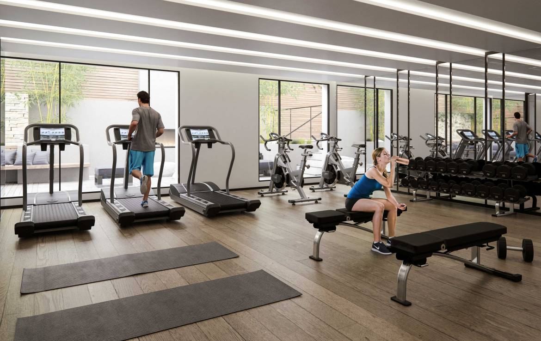 The Roncy Condos Gym Toronto, Canada