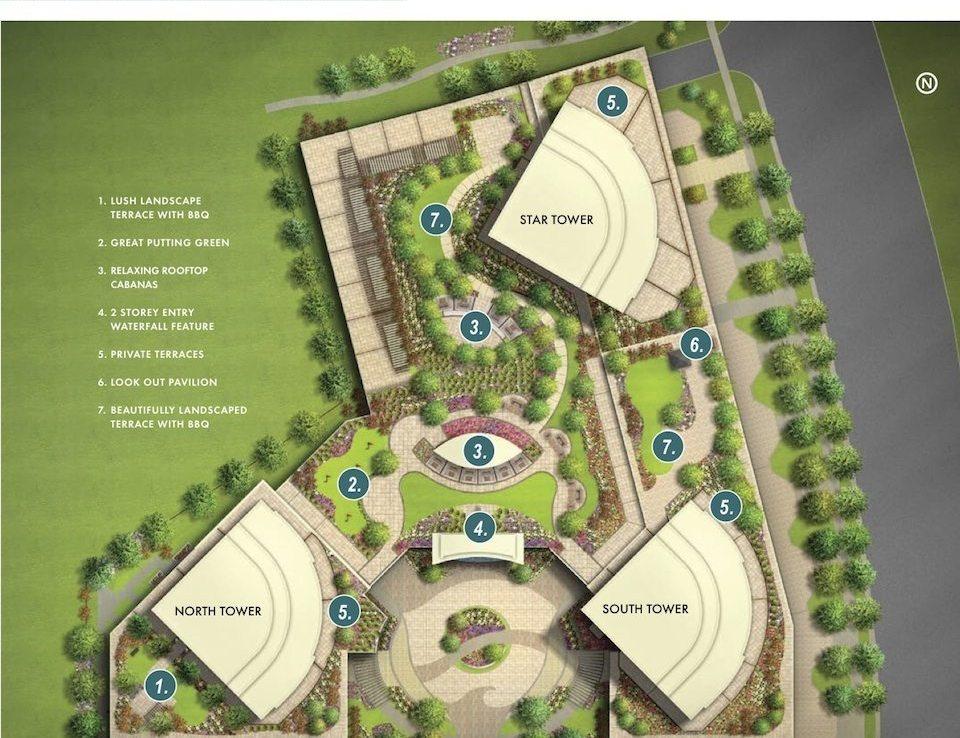Beyond The Sea Condos Terrace Plan Toronto, Canada