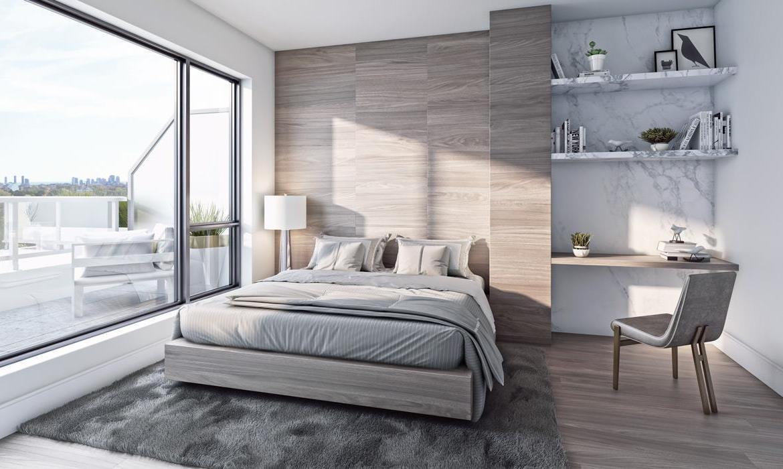 Bianca Condos Bedroom Toronto, Canada