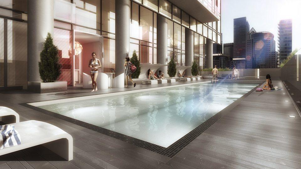 Bond Condos Pool View Toronto, Canada