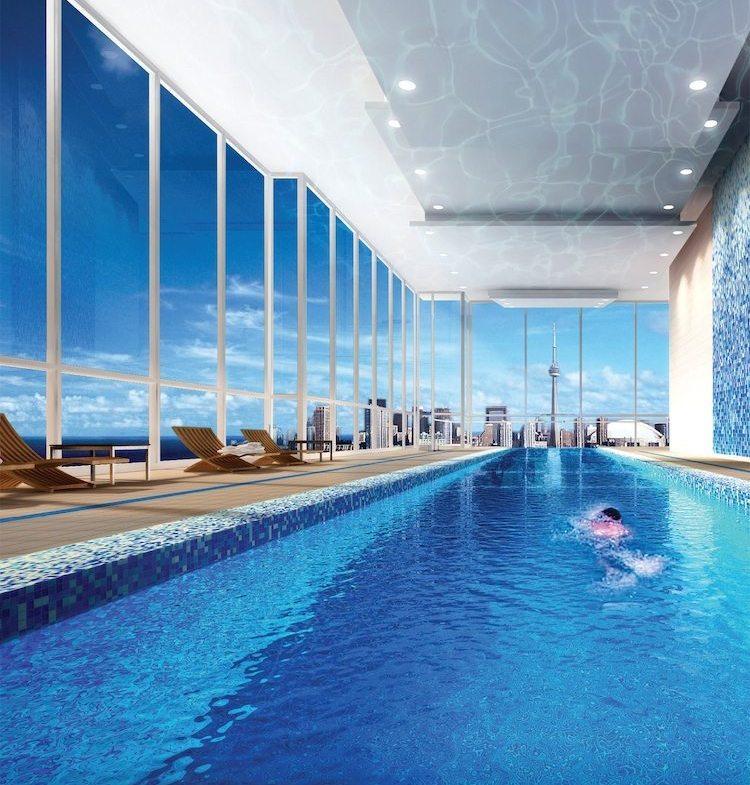 California Condominiums Pool View Toronto, Canada