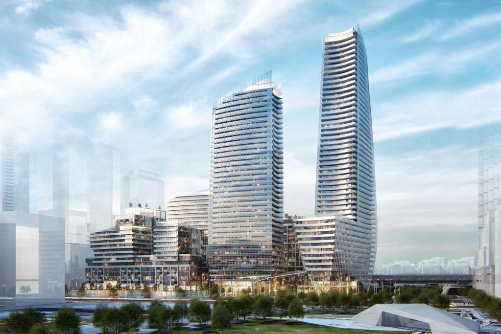 Lakeside Residences Building View Toronto, Canada