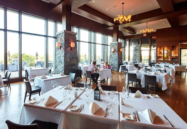 Muskoka Bay Resort Restaurant View Toronto, Canada