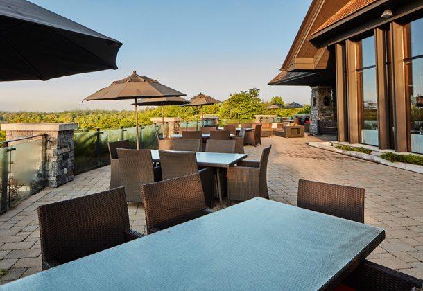 Muskoka Bay Resort Terrace Lounge Toronto, Canada