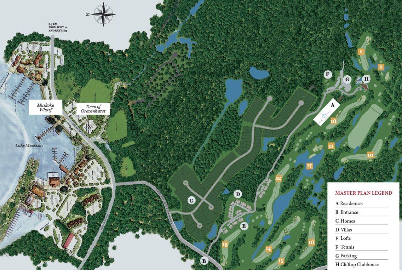 Muskoka Bay Resort Map View Toronto, Canada