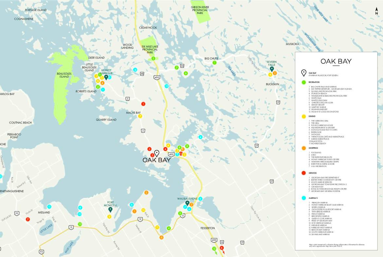 Oak Bay Condos Map View Toronto, Canada