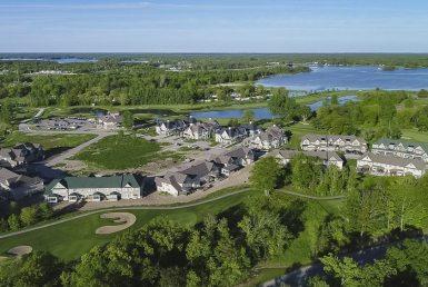 Oak Bay Condos Aerial View Toronto, Canada