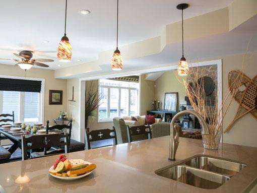 Oak Bay Condos Kitchen View Toronto, Canada