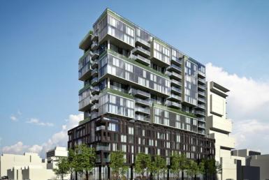 oneeleven Condominiums Street View Toronto, Canada