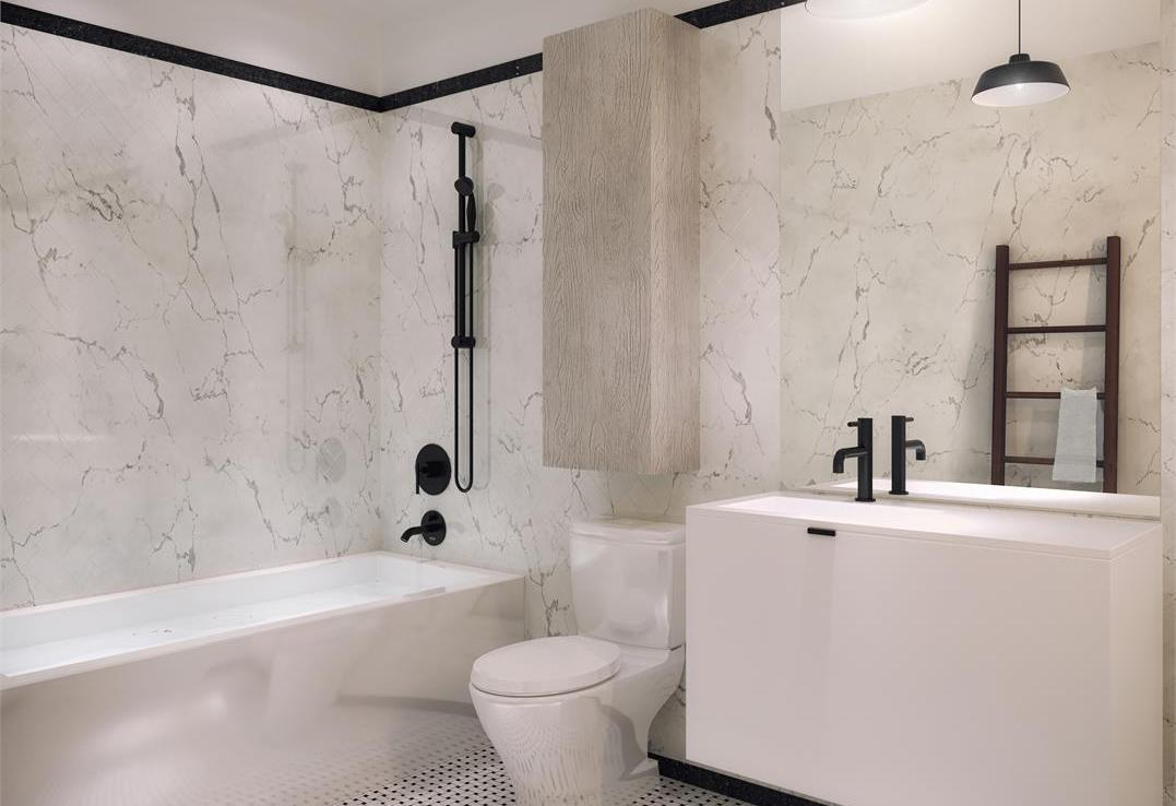 The Bluffs Condos Bathroom Toronto, Canada