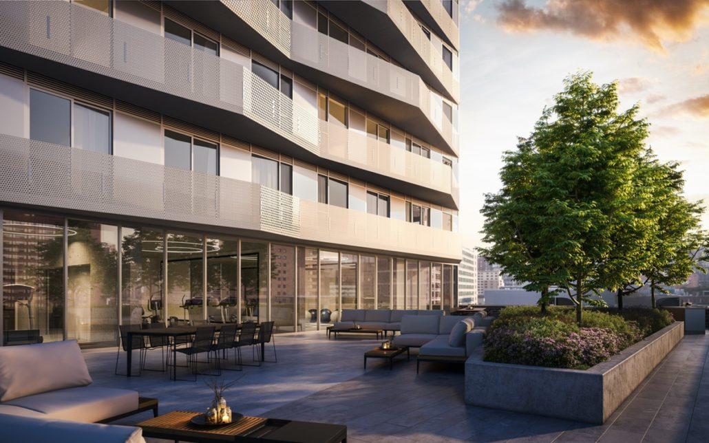 Social Condos Terrace Lounge Toronto, Canada