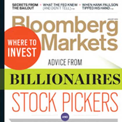 Bloomberg Markets magazine example