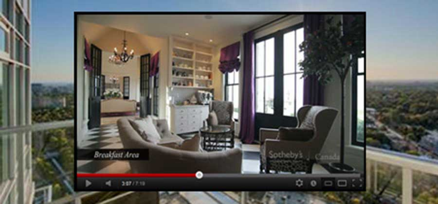 Video Tours - Sothebys International Realty Canada Extraordinary Real Estate Marketing