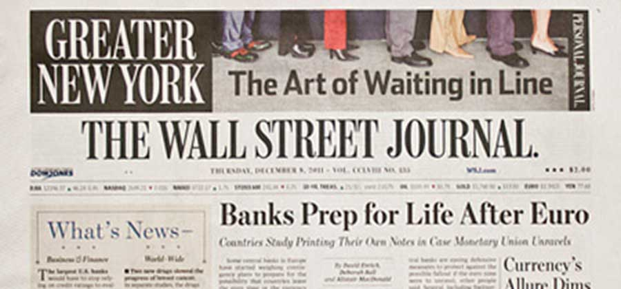 The Wall Street Journal - Greater New York - Sothebys International Realty Canada Extraordinary Real Estate Marketing