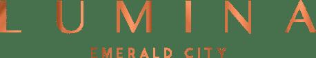 Logo of Lumina Condos at Emerald City