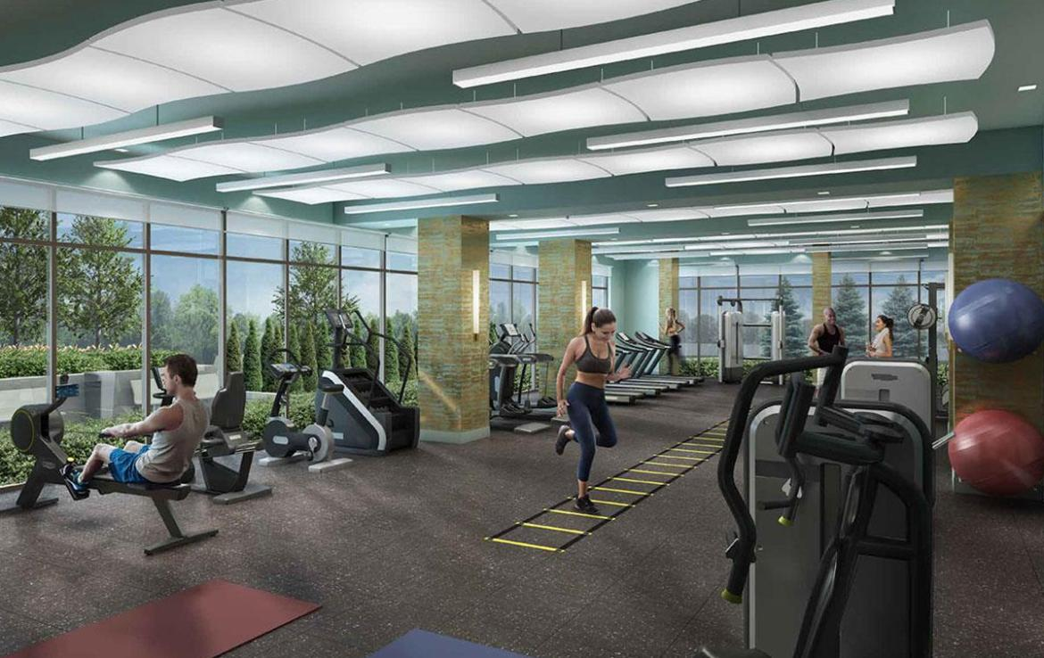 D'or Condos fitness centre