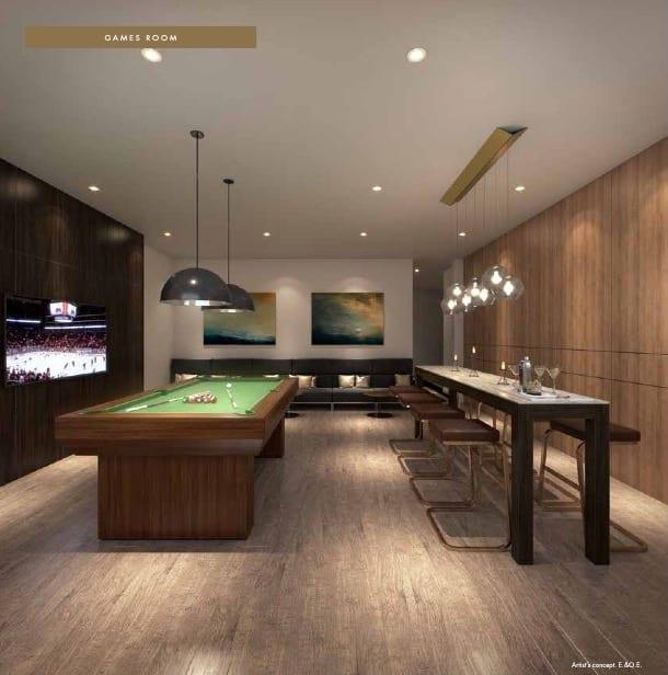 TANU Condos Game Room
