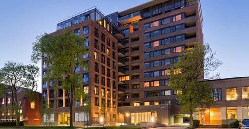Exterior image of the 400 Wellington West in Toronto