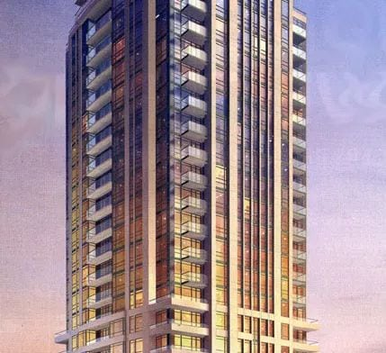 Exterior image of the 500 Saint Clair Avenue West in Toronto