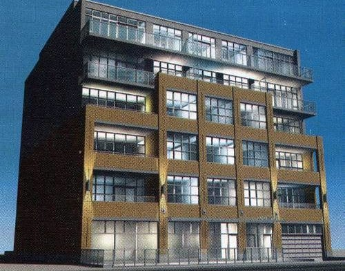 Exterior image of the 52 Sumach Street in Toronto