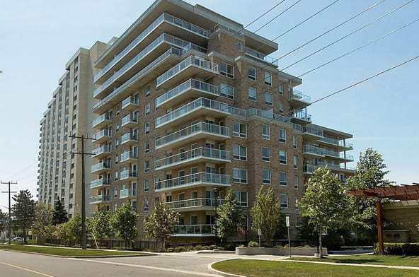 Exterior image of the Chestnut Place in Toronto