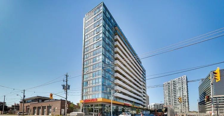 Exterior image of the Fuzion in Toronto