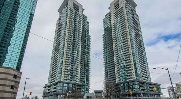Exterior image of the Gibson Square in Toronto