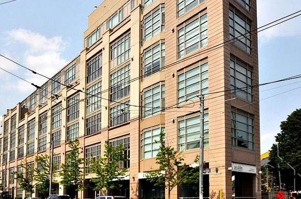 Exterior image of the High Park Lofts in Toronto