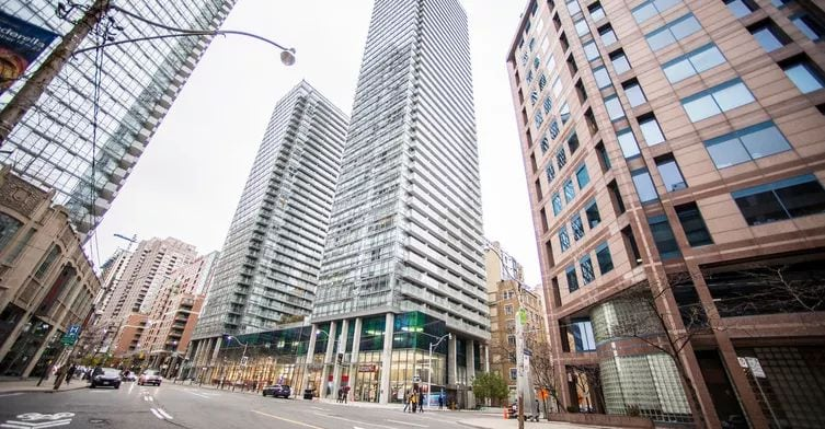 Exterior image of the Murano North Tower in Toronto