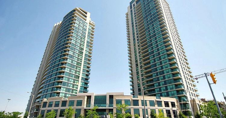 Exterior image of the One Sherway - Tower Three in Toronto