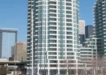 Exterior image of the Riviera 2 at Riverside Lofts Condos in Toronto