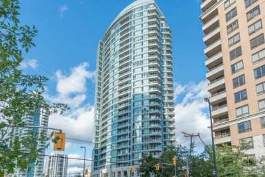 Exterior image of the The Monet in Toronto