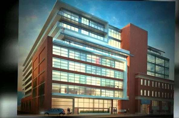 Exterior image of the The Ninety in Toronto