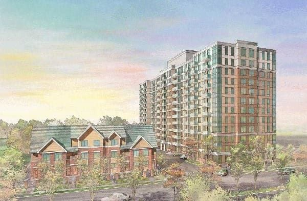 Exterior image of the Village at Guildwood in Toronto