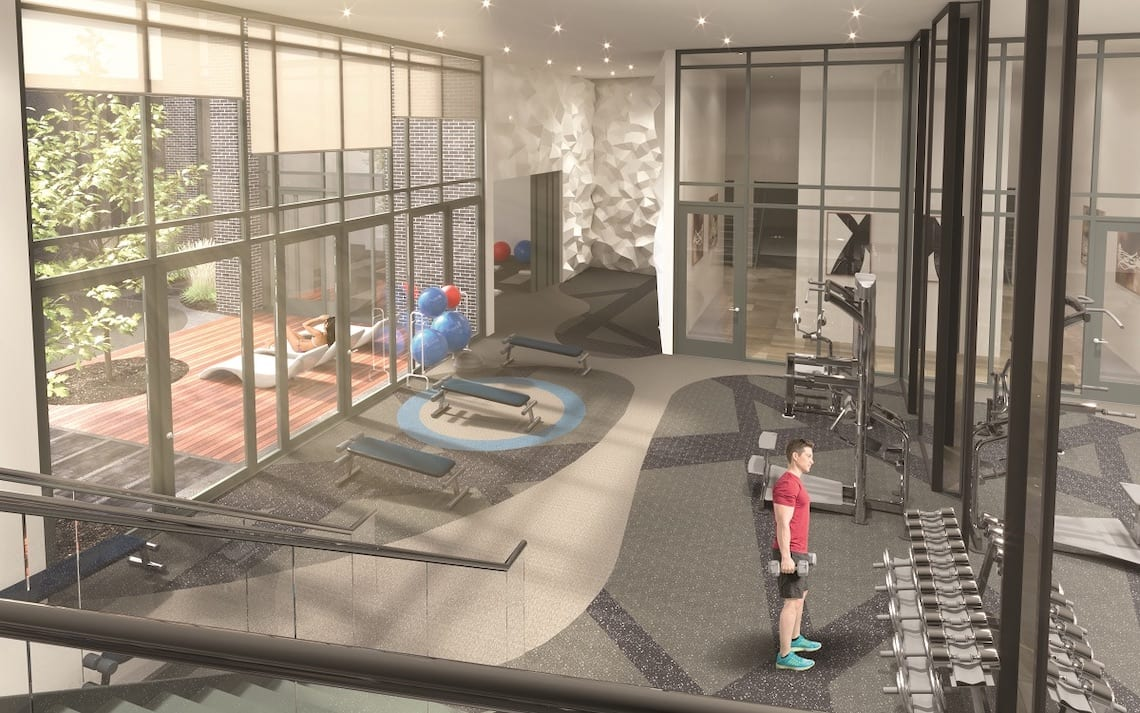 East Junction Condos gym