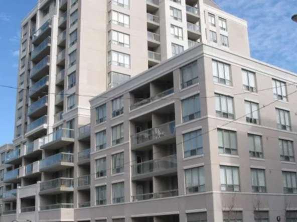 Exterior image of the Rio II Condos in Toronto