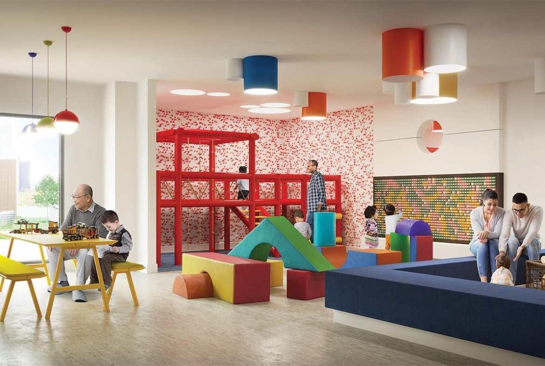 Rendering of Artworks Tower Condos Kids Play Area
